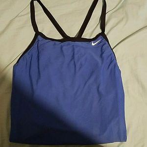 Nike blue one piece